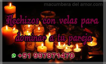 Hechizos con velas para dominar a tu pareja