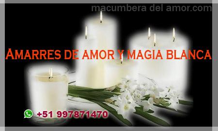 Amarres de amor y magia blanca